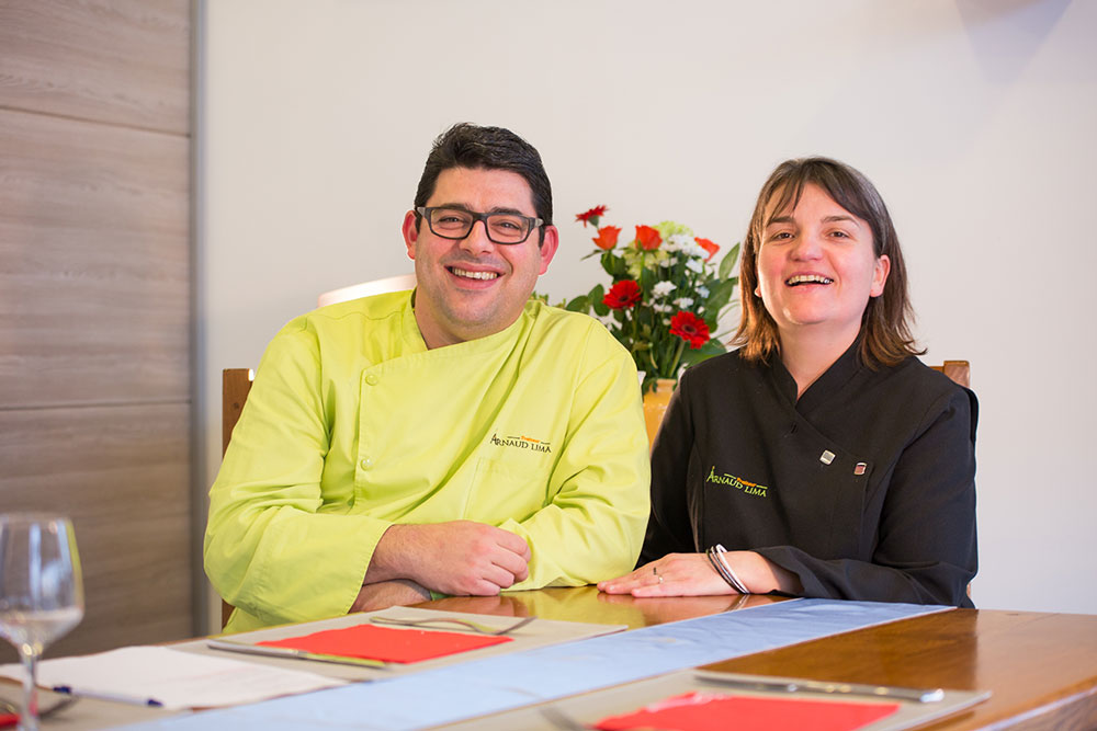 Arnaud Lima et sa femme, traiteurs en Aveyron et Tarn